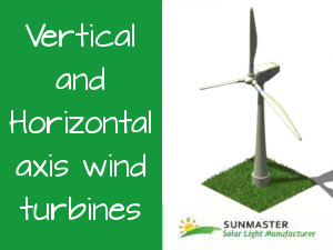 Vertical and Horizontal axis wind turbines 1 - Vertical and Horizontal axis wind turbines
