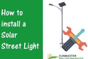 Solar-Street-Light-Installation Solar Lights Blog