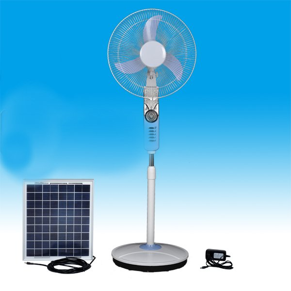 2 - Solar Powered Fan