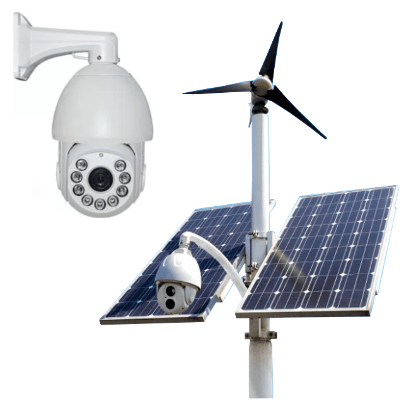 Solar powered security camera 2a - Solar powered security camera