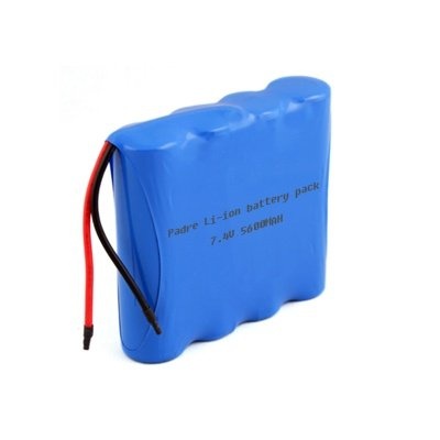 7.4V 5600MAH Lithium ion battery pack - How to connect batteries in series and parallel