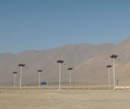 Solar Street Lights Desert - Solar Street Lights for the Desert