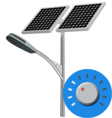 Solar Street Lights Dimmer - Solar Street Lights for the Desert