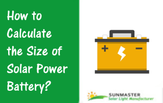 Solar Power Battery - Solar Lights Blog