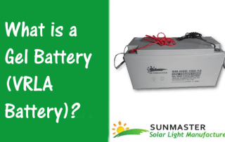 What is a Gel Battery VRLA Battery Prev - Solar Lights Blog