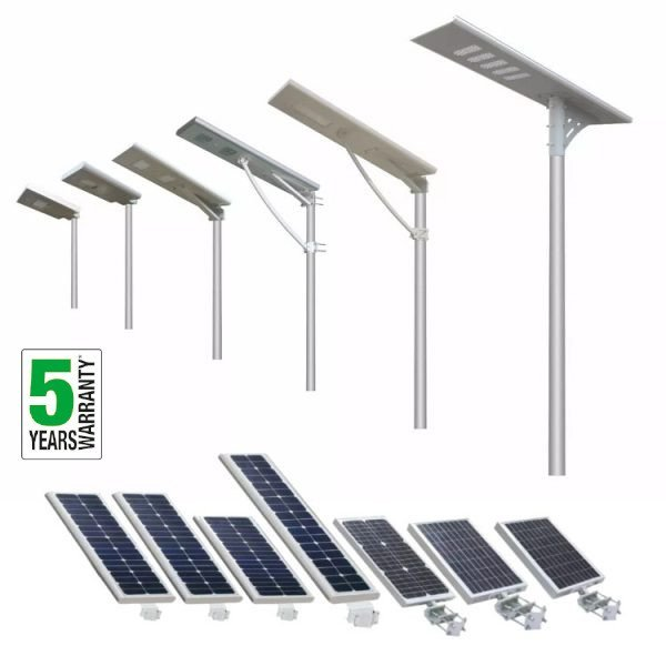 All in One Solar Street Lights 5 Years Warranty - All in one solar street light