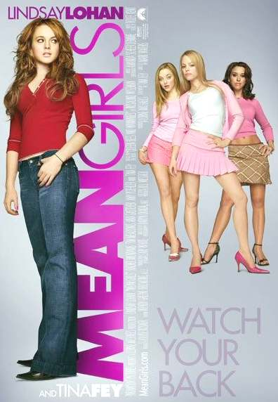 Mean Girls movie poste Lindsay Lohan