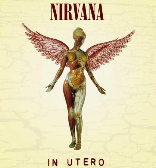 In Utero, o último álbum lançado pelo Nirvana.