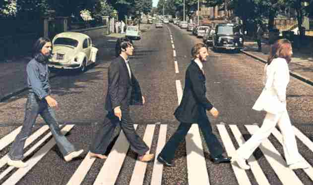 THE BEATLES!!! WIR WAREN HELDEN!  WAHRE HELDEN ABBEY ROAD!