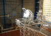 solar reactor to make water and oxygen on the moon