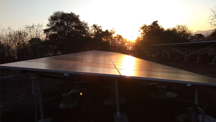 Sunset, Alor, Savu, Solar Power Indonesia