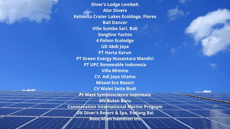 Solar Power Indonesia Customers1