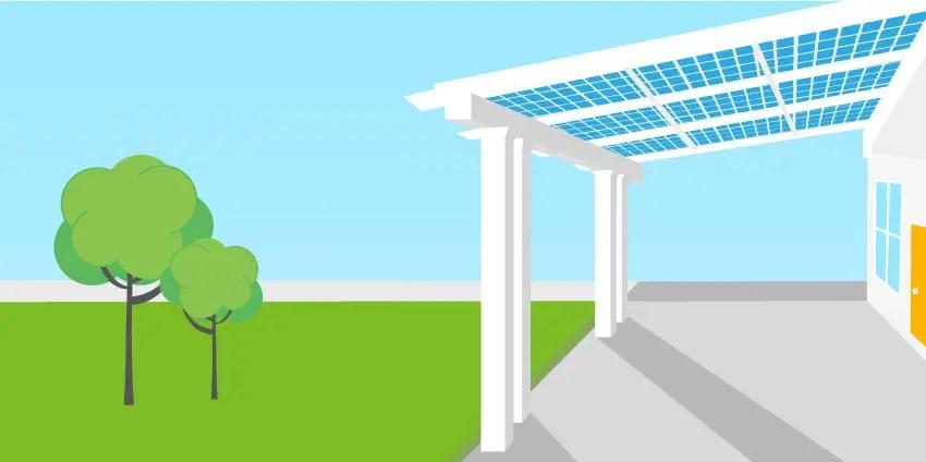 solar pergolas gazebos patio covers
