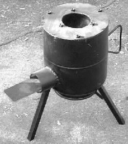 Homemade Wood Stove From A Gas Cylinder By Andy Patterson