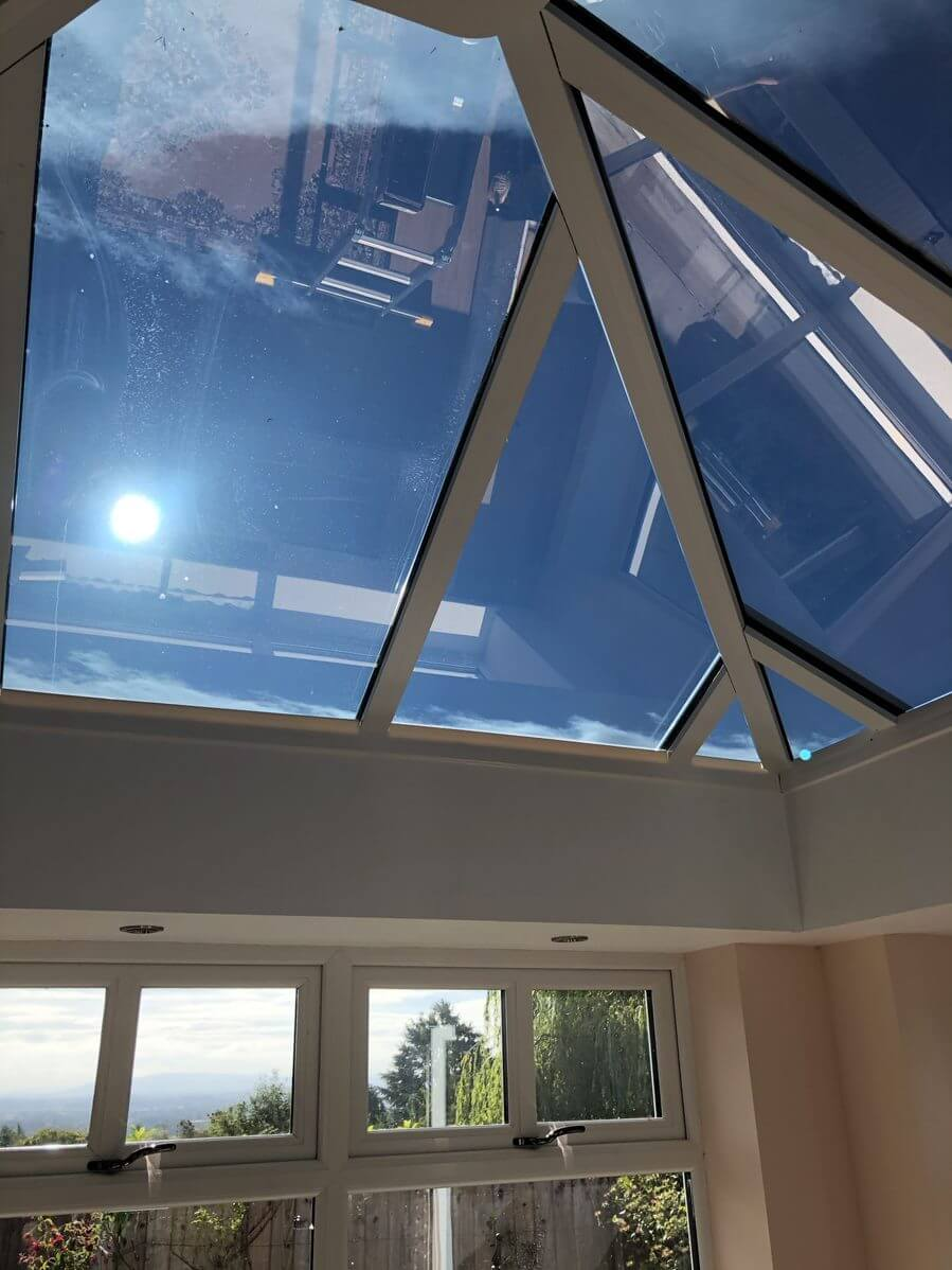 Solar Control Window Film Applied to a Conservatory