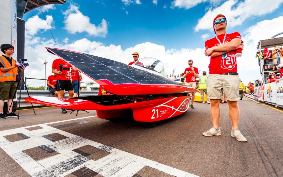Tegenslag voor Solar Team Twente