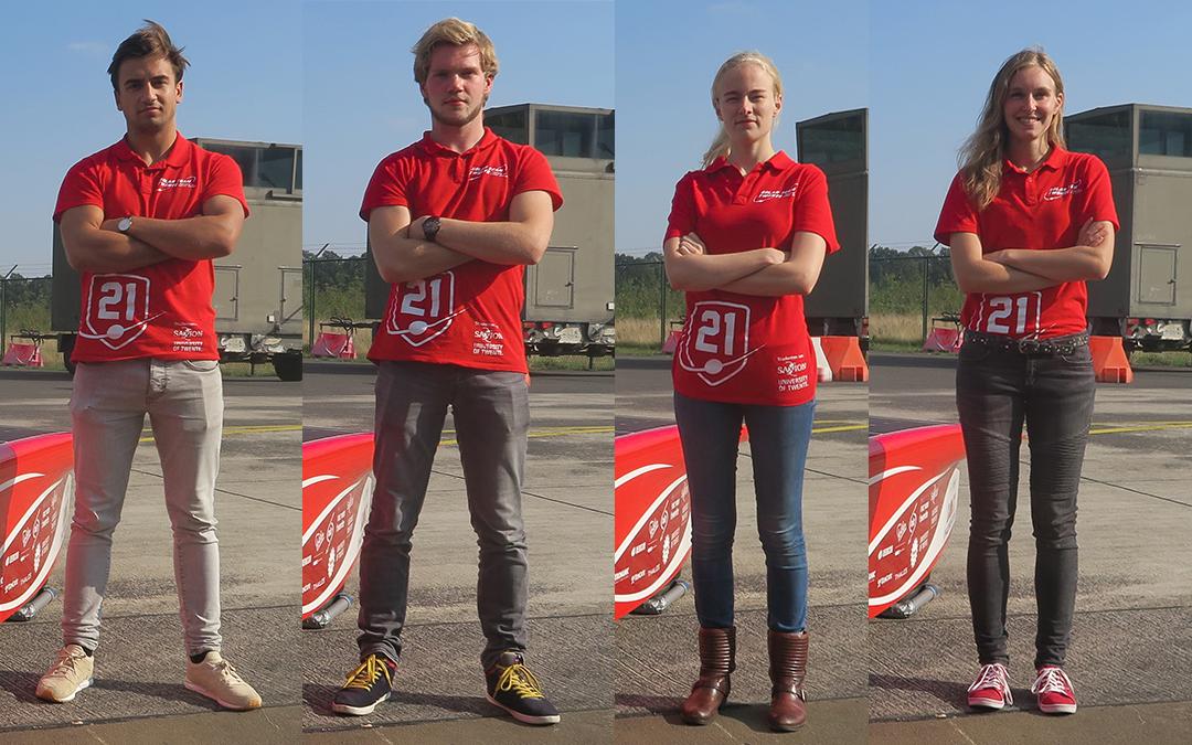 Wij zijn coureurs voor Solar Team Twente