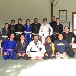 Rob Biernacki at Solarte BJJ in Sequim WA