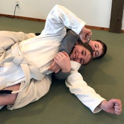 Kids martial arts in Sequim practicing back control