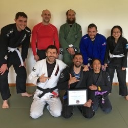 Group photo at Solarte BJJ in Sequim Carlsborg WA
