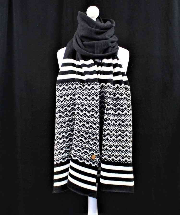 Marrakech Beanie hat in Black and White matching items