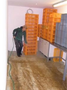 Hochwasser, Packraum
