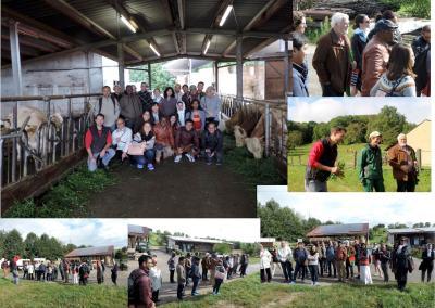 Solawi, Hofführung, Workshop, DAAD, international