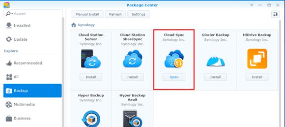 STACK cloud sync installatie