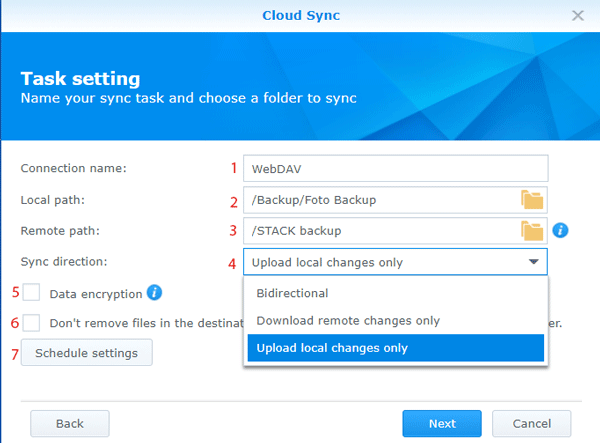 STACK-cloud-sync-instellen-task-settings