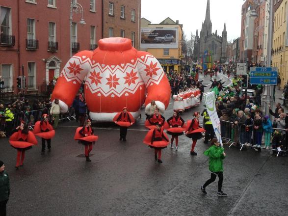 Défilé St Patrick 2013