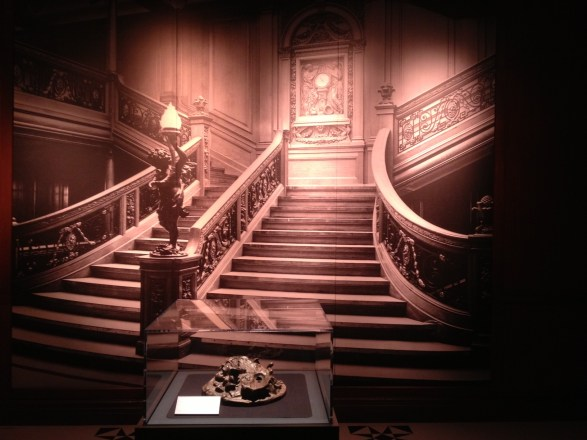 Grand escalier Titanic