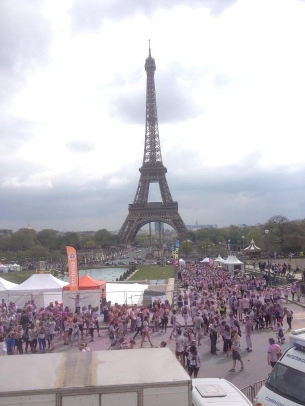Tour Eiffel Run Color