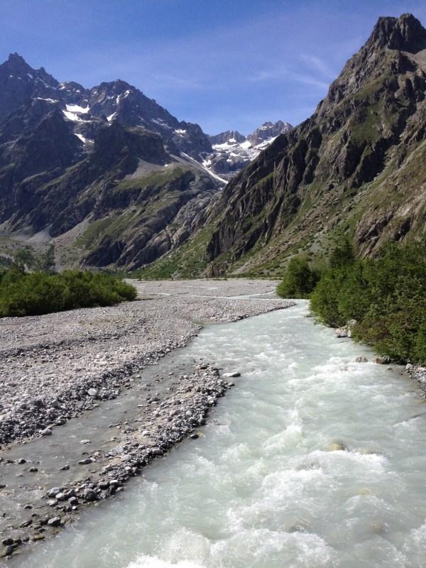 Glacier Blanc massif des écrins