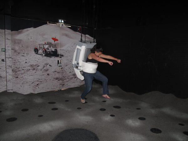 Lune cité de l'espace