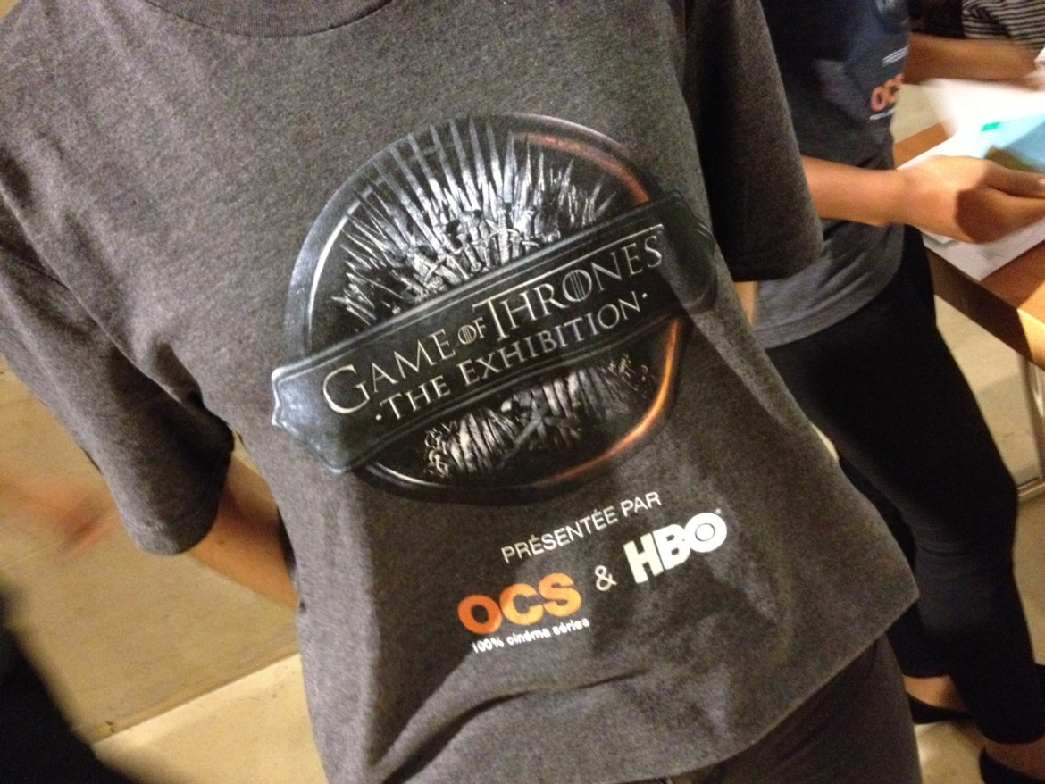T-shirt Games of Thrones