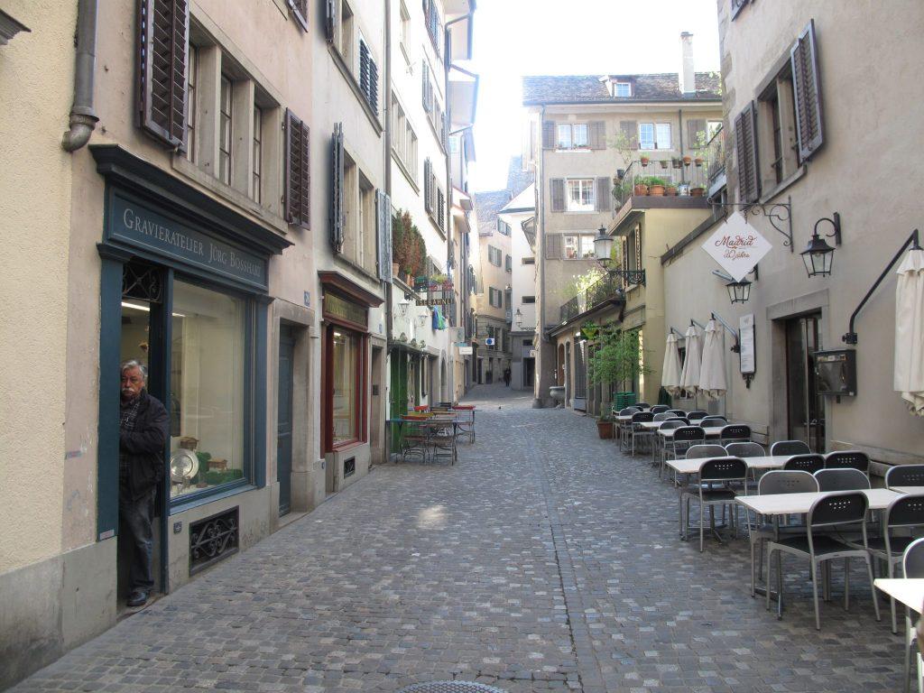 Rues de Zurich