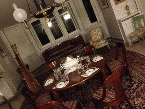 Salle à manger maison de Chateaubriand