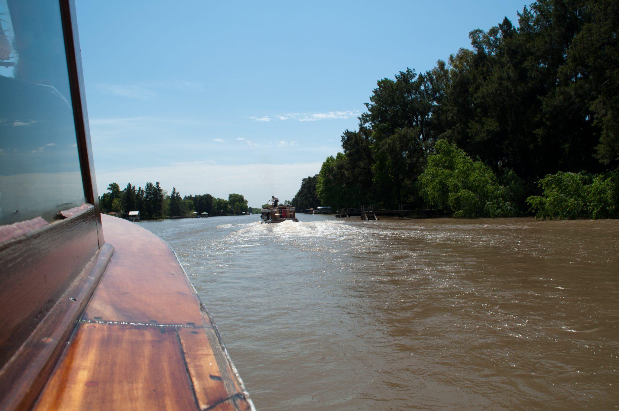 Bateau Tigre Argentine