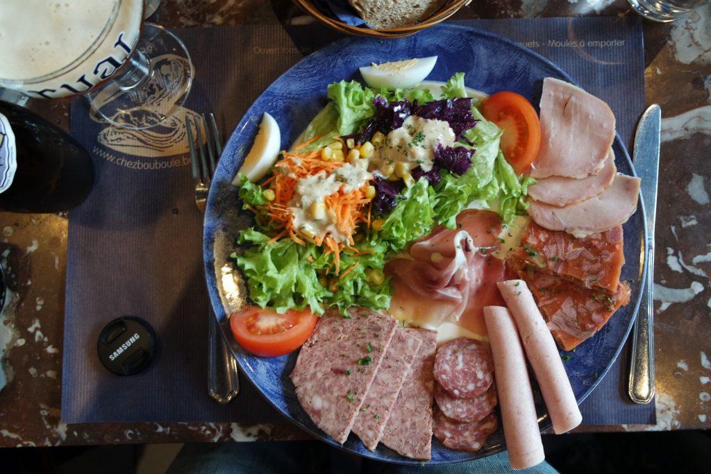 Assiette du terroir chez Bouboule