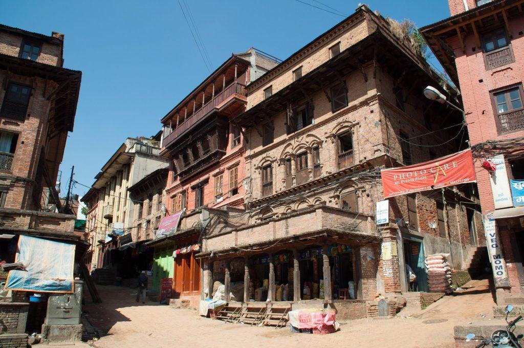 Chemin de Katmandou