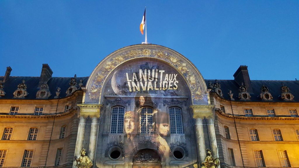 Spectacle Nuit aux Invalides