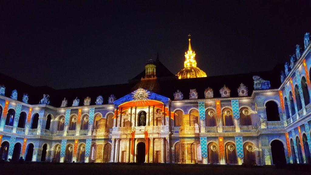 La nuit des invalides Paris