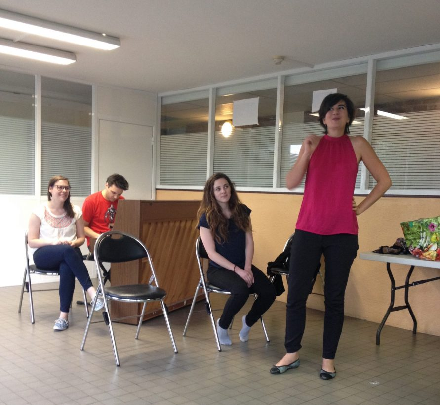 Improvisation Grimass Avignon 2016