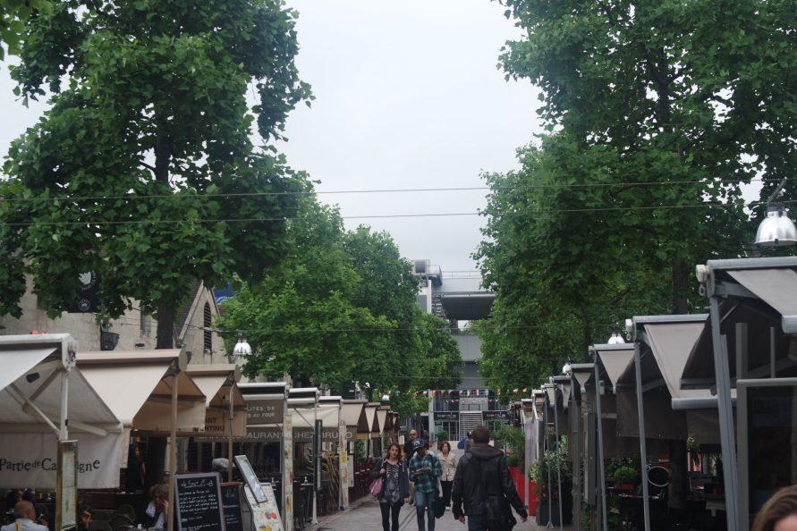 Visite Bercy Village