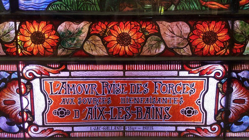 Vitrail Casino Aix les Bains