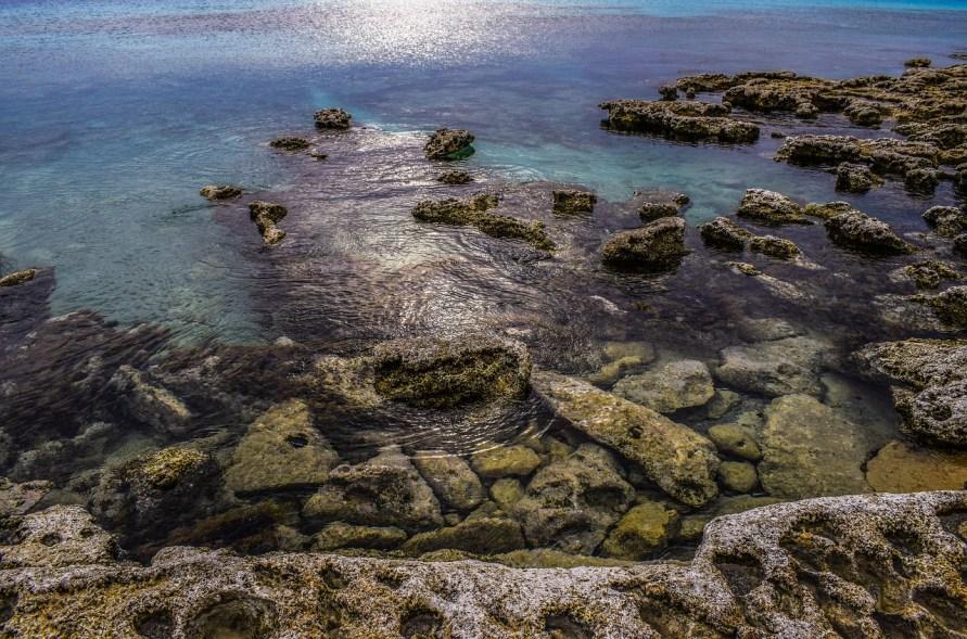 Playa rocosa Costa Dorado