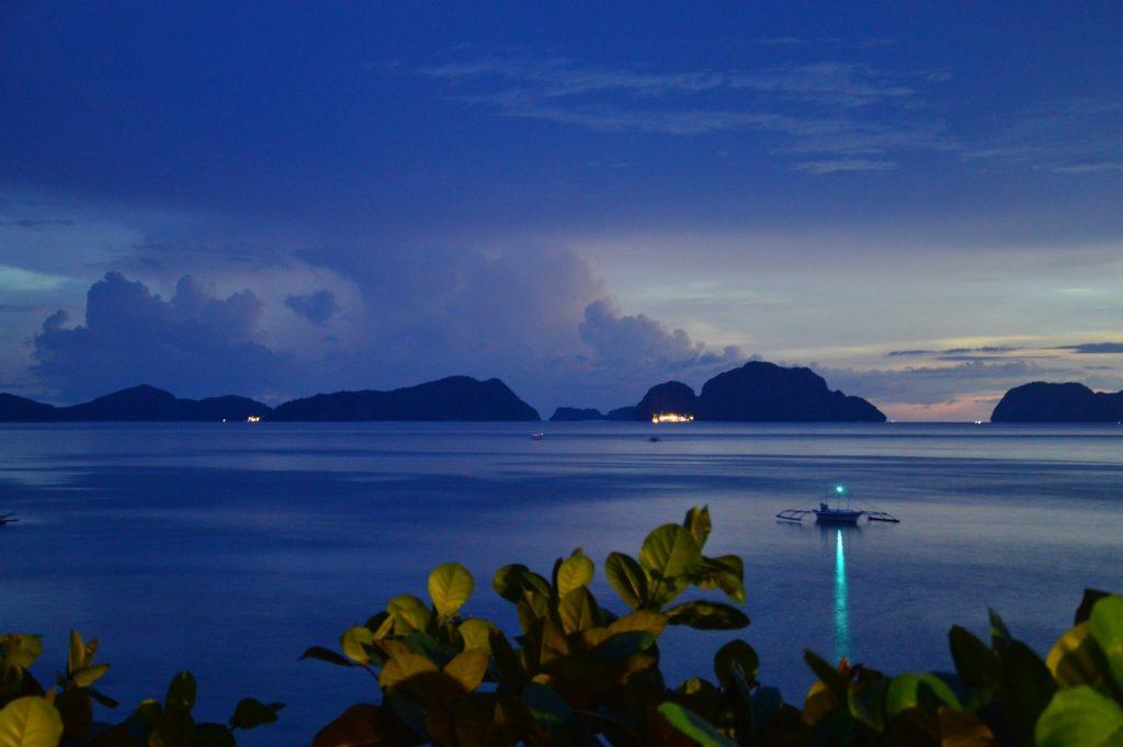 Palawan - Coucher de soleil depuis le Republica Sunset Bar