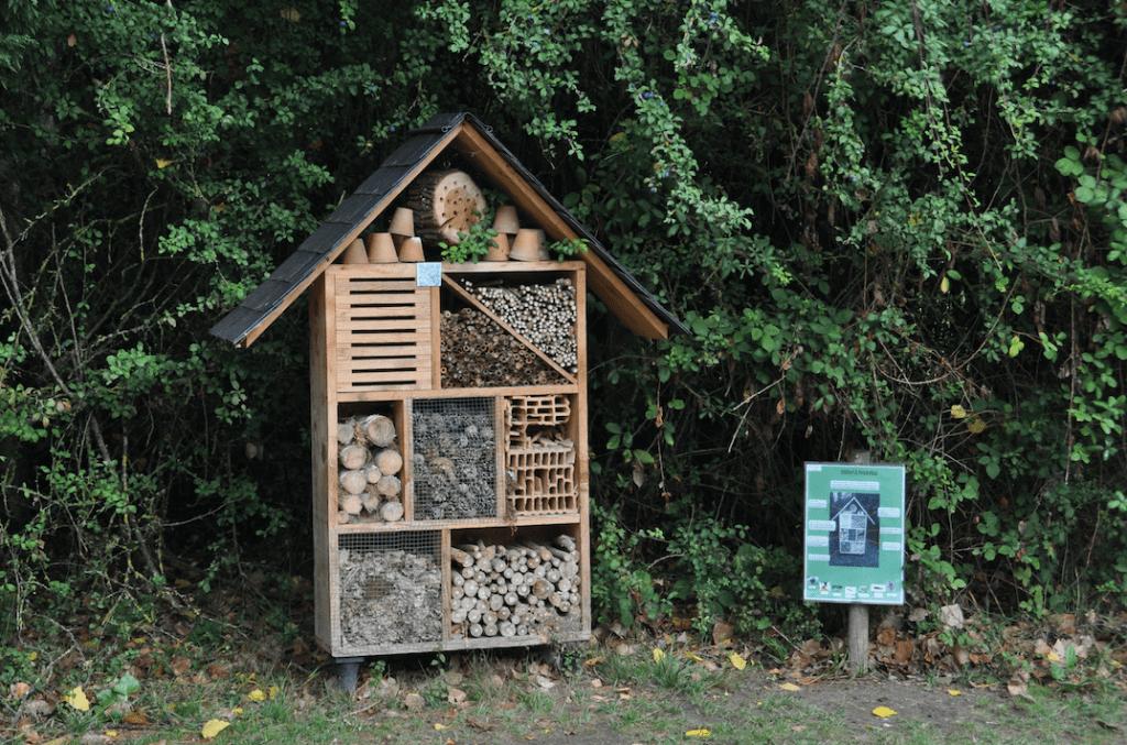 Hôtel des insectes Camping Chaumont-sur-Loire