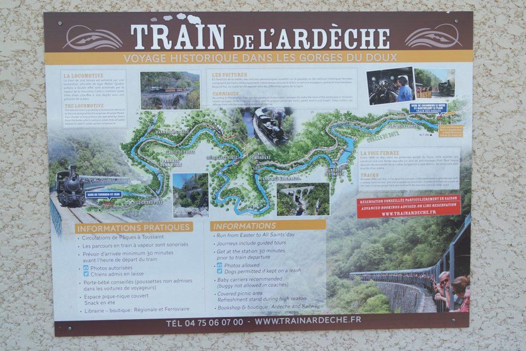 Activités insolites train de l'Ardèche