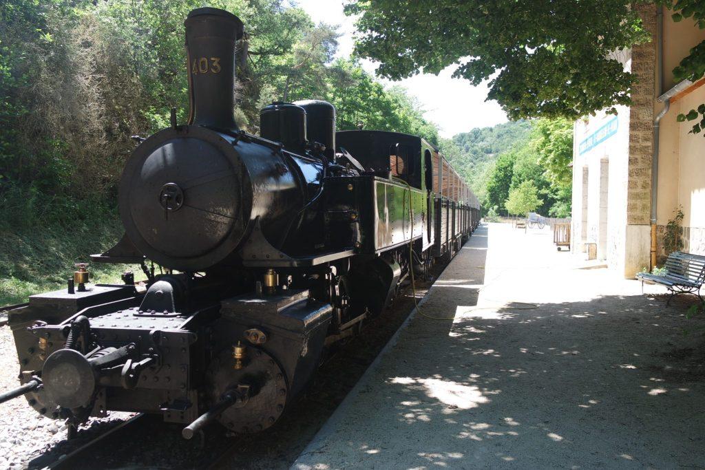 Activités insolites Ardèche locomotive à vapeur